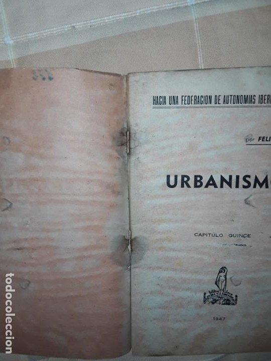 Libros: Felipe Alaiz. Lote de 4 títulos de Ediciones « Tierra y Libertad » publicados en el exilio francés. - Foto 2 - 197754822