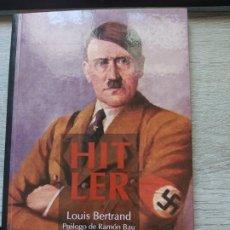 Libros: HITLER LOUIS BERTRAND PROLOGO DE RAMON BAU ENR 2012 – 82 PAG. CON ILUSTRACIONES LIBRO NUEVO 12. Lote 198505536
