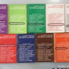 Libros: CUADERNOS DE EDUCACIÓN POPULAR (9 TOMOS). Lote 199082743