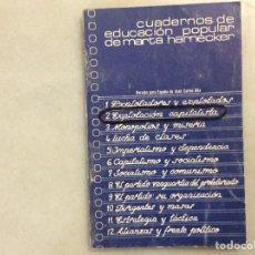 Libros: EXPLOTACIÓN CAPITALISTA. Lote 199175503