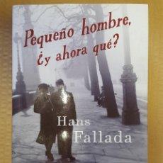 Libros: LIBRO / PEQUEÑO HOMBRE, ¿Y AHORA QUE? / HANS FALLADA / MAEVA 2009. Lote 199847527