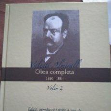 Libros: ALMIRALL VALENTÍ.OBRA COMPLETA 1880-1884. Lote 201542272