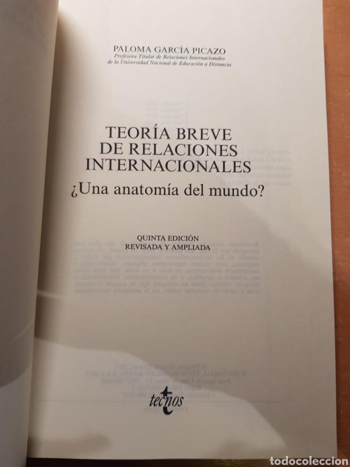 Libros: Teoria Breve de Relaciones Internacionales - García Picazo, Paloma - Foto 3 - 205067898