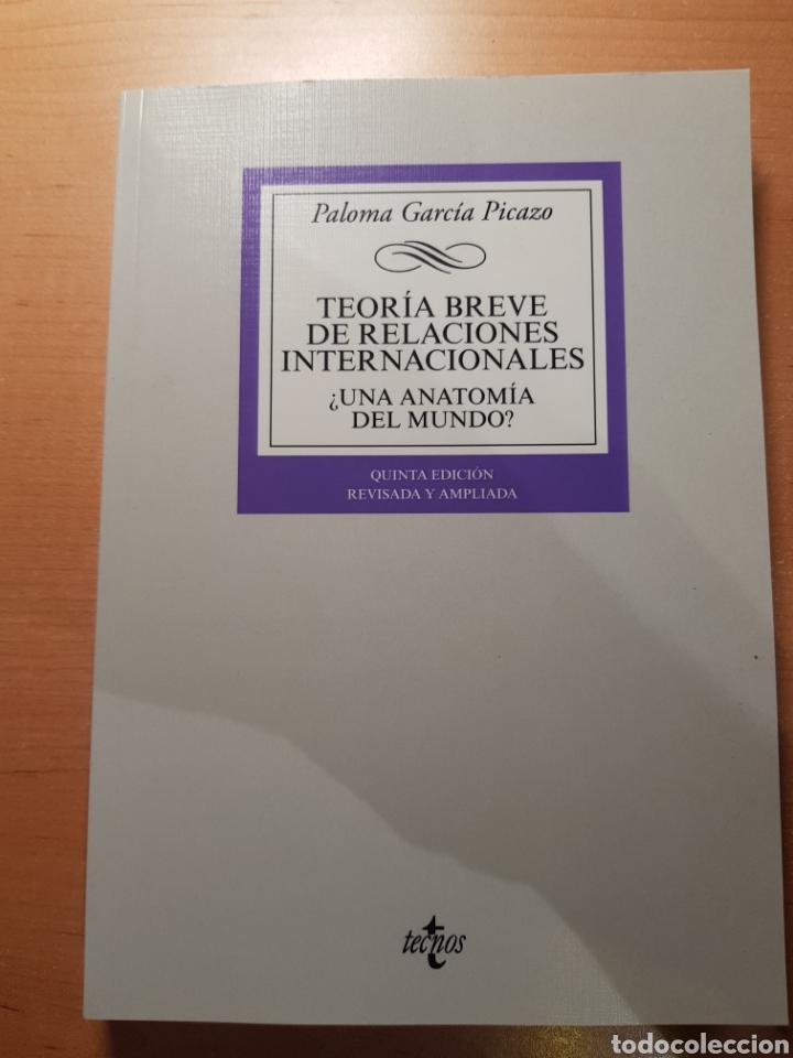 TEORIA BREVE DE RELACIONES INTERNACIONALES - GARCÍA PICAZO, PALOMA (Libros Nuevos - Humanidades - Política)