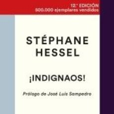 Libros: ¡INDIGNAOS!. Lote 205657657