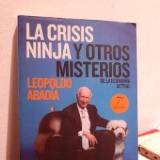 Libros: LA CRISIS NINJA Y OTROS MISTERIOS DE LA ECONOMIA ACTUAL. Lote 207082877