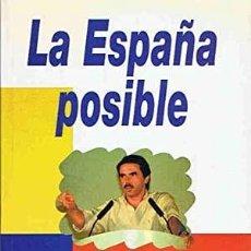 Libros: ENRIQUE DE DIEGO VILLAGRÁN - LA ESPAÑA POSIBLE. Lote 207915897