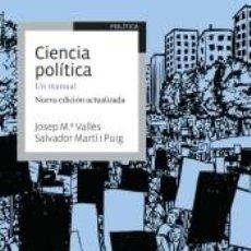 Libros: CIENCIA POLÍTICA. Lote 209085887