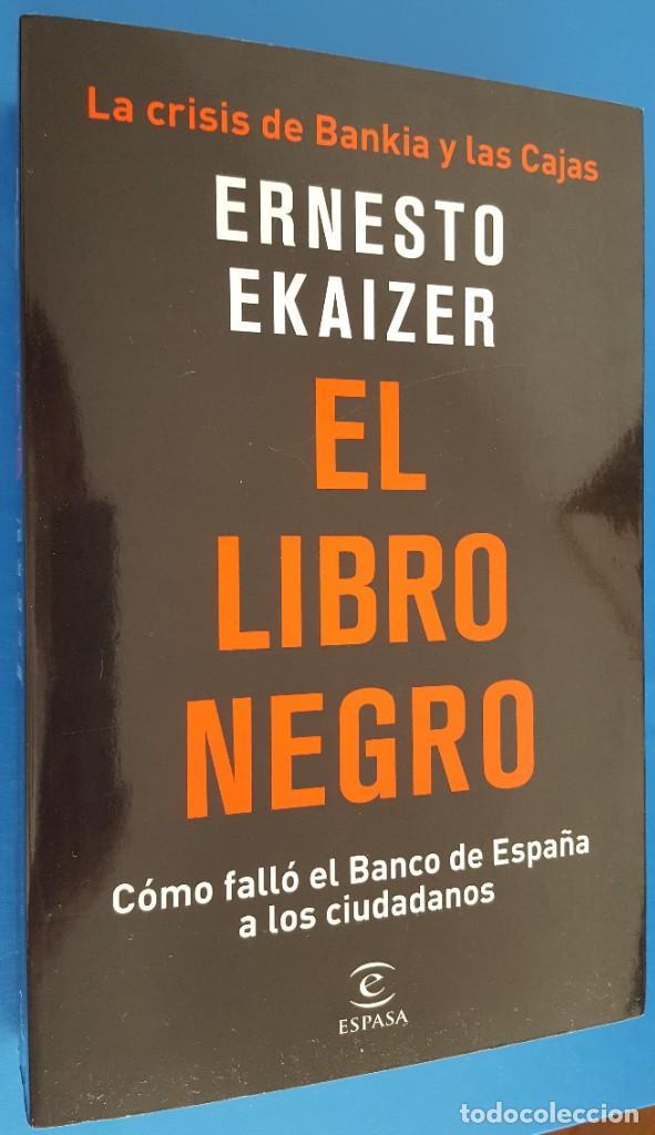 LIBRO / ERNESTO EKAIZER - EL LIBRO NEGRO 2018 (Libros Nuevos - Humanidades - Política)