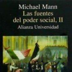 Libros: LAS FUENTES DEL PODER SOCIAL, II. Lote 209218048