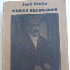 Libros: JOSÉ STALIN , OBRAS ESCOGIDAS , TOMO II , ESTRATEGIA Y TÁCTICA, 1977. Lote 210671965
