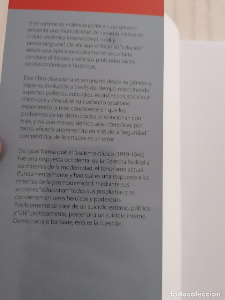 Libros: TERRORISMO. DISECCIÓN DE LA BARBARIE - JUAN-ANTÓN MELLÓN - TIBIDABO EDICIONES - BARCELONA - 2017 - Foto 5 - 213481728