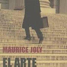 Libros: EL ARTE DE MEDRAR MANUAL DEL TREPADOR MAURICE JOLY. Lote 213754607
