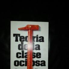 Libri: TEORÍA DE LA CLASE OCIOSA. Lote 214723161