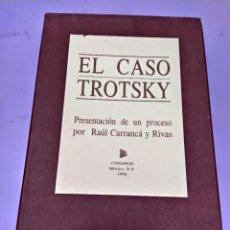 Libros: BOX 37CM.EL CASO TROTSKY.PRESENTACION DE UN PROCESO POR RAUL CARRANCA Y RIVAS.CONEPOD MEXICO D.F1994. Lote 222396180