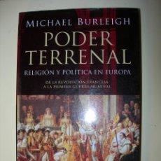 Livres: PODER TERRENAL / MICHAEL BURLRIGH. Lote 222908052