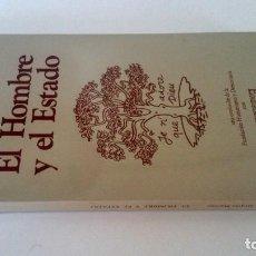Libros: EL HOMBRE Y EL ESTADO. JACQUES MARITAIN.. Lote 226243330
