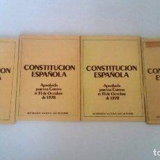 Libros: LA CONSTITUCIÓN ESPAÑOLA. FOLLETOS DIVULGATIVOS.. Lote 226246015