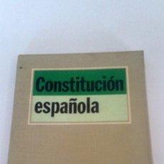 Libros: CONSTITUCIÓN ESPAÑOLA, TECNOS. Lote 226246695
