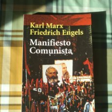 Libros: MANIFIESTO COMUNISTA KARL MARX FRIEDRICH ENGELS ALIANZA EDITORIAL EDICIÓN DE BOLSILLO. Lote 228111885