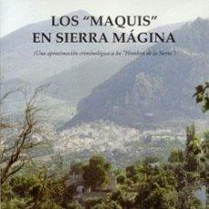 Libros: LOS MAQUIS EN SIERRA MÁGINA. Lote 234960835