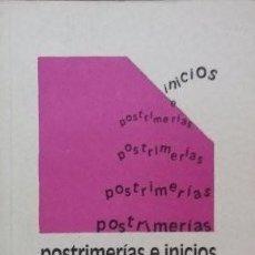Libros: JOHN GRAY - POSTRIMERÍAS E INICIOS. Lote 235549805