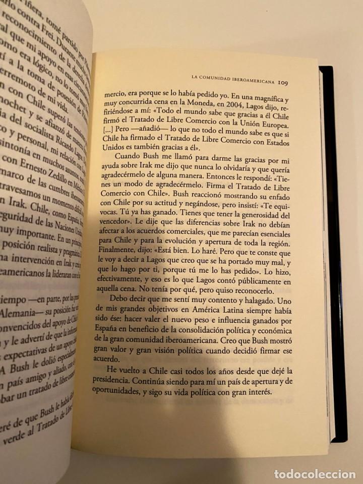 """Libros: """"JOSÉ MARÍA AZNAR EL COMPROMISO DEL PODER"""" - MEMORIAS II - Foto 3 - 244968000"""
