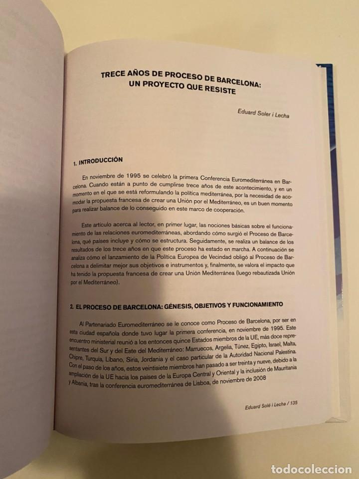 """Libros: """"LA UNIÓN EUROPEA Y EL MEDITERRÁNEO"""" - VICENTE GARRIDO Y JOSÉ M. LÓPEZ - Foto 3 - 244971720"""