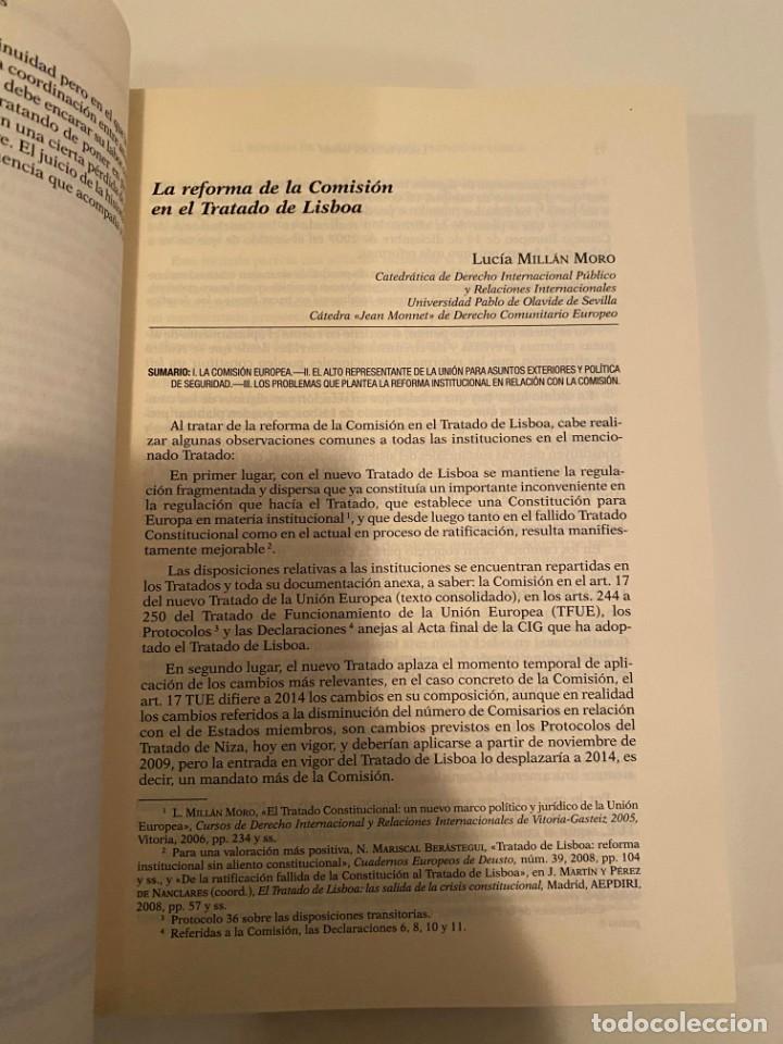 """Libros: """"LA PRESIDENCIA ESPAÑOLA DE LA UNIÓN EUROPEA EN 2010"""" - MARCIAL PONS - Foto 3 - 244974195"""
