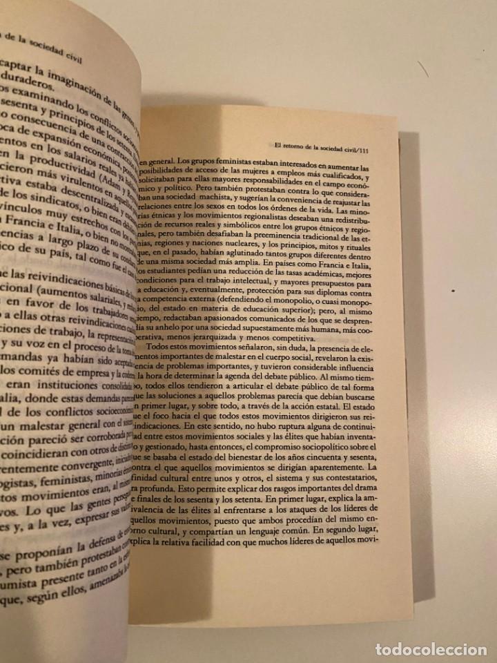 """Libros: """"LA PRIMACÍA DE LA SOCIEDAD CIVIL"""" - VÍCTOR PÉREZ DÍAZ - Foto 4 - 245156740"""
