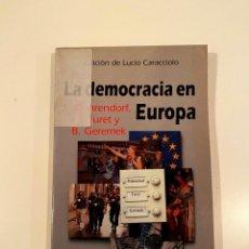 """Libros: """"LA DEMOCRACIA EN EUROPA"""" - EDICION LUCIO CARACCIOLO. Lote 245173550"""