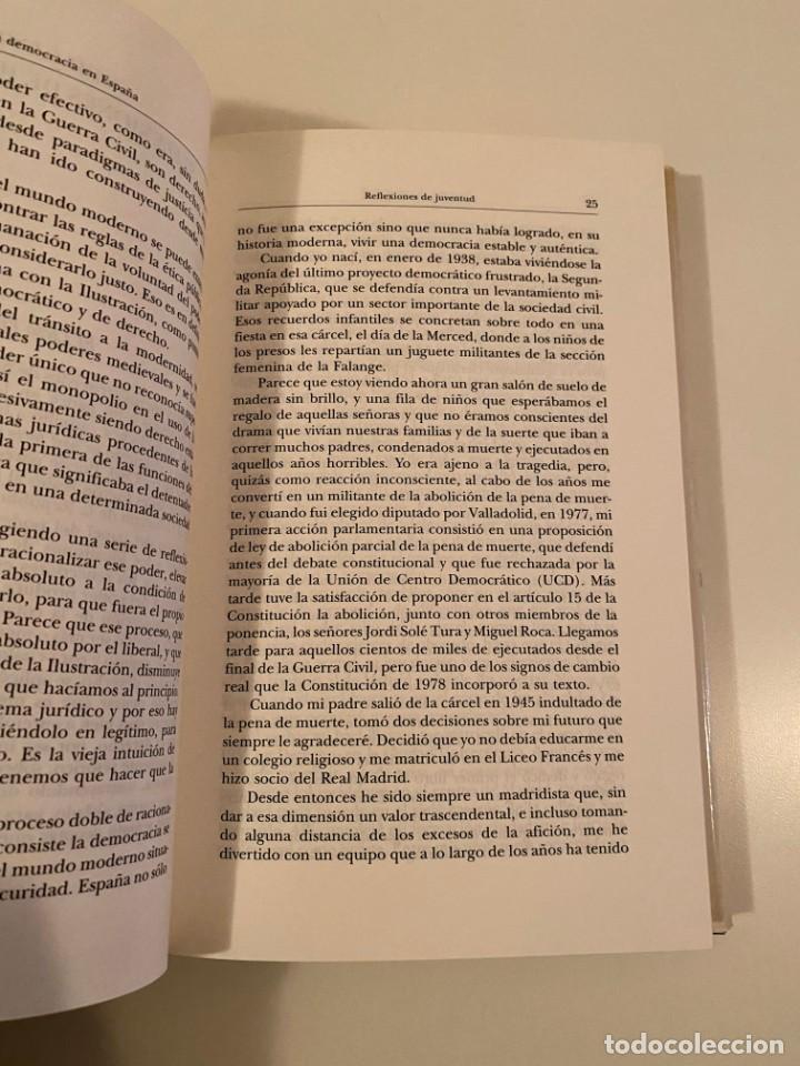 """Libros: """"LA DEMOCRACIA EN ESPAÑA"""" - GREGORIO PECES-BARBA - Foto 4 - 245197345"""