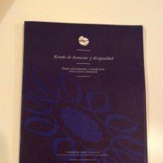 """Libros: """"ESTADO DE BIENESTAR Y DESIGUALDAD"""" - GOSTA ESPING. Lote 245356505"""