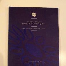 """Libros: """"ANDARES Y CAMINOS"""" - VARIOS AUTORES. Lote 245356730"""