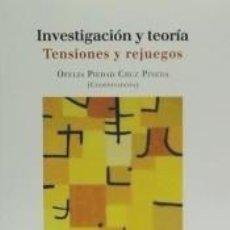 Libros: INVESTIGACIÓN Y TEORÍA: TENSIONES Y REJUEGOS. Lote 253658880