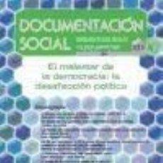 Libros: EL MALESTAR DE LA DEMOCRACIA: LA DESAFECCIÓN POLÍTICA. Lote 253665605
