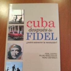 Libros: CUBA DESPUÉS DE FIDEL. Lote 262977770