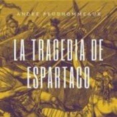Libros: LA TRAGEDIA DE ESPARTACO. Lote 268589059