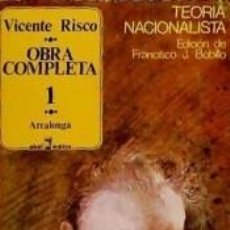 Libros: OBRA COMPLETA I. Lote 269825733