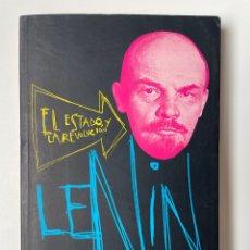 Libros: EL ESTADO Y LA REVOLUCIÓN. VLADIMIR LENIN. Lote 270614533