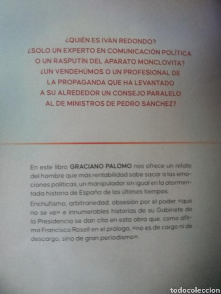 Libros: Iván Redondo el manipulador de emociones - Foto 3 - 273433228