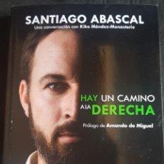Libros: LIBRO DE SANTIAGO ABASCAL. VOX. NUEVO. Lote 283070158