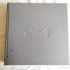 Libros: FUNDACIÓN FAES - 20 ANIVERSARIO - NUEVO. Lote 288877243