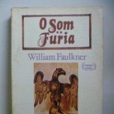 Libros: O SOM E A FURIA, WILIAM FAULKNER (EN PORTUGUES). Lote 47756718