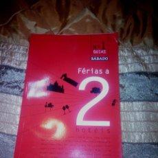 Libros: GUÍA DE VACACIONES A 2 HOTELES EN PORTUGAL. Lote 53476703
