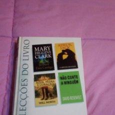 Libros: SELEÇÃO DE 4 LIVROS NUM SÓ. Lote 57141769