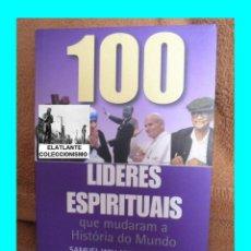 Libros: 100 LIDERES ESPIRITUAIS QUE MUDARAM A HISTÓRIA DO MUNDO - SAMUEL WILLARD CROMPTON - 2001 - PORTUGUÊS. Lote 58432225
