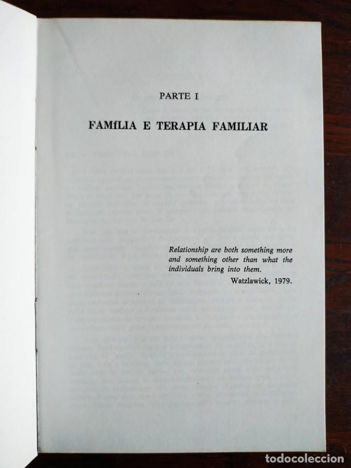 Libros: Libro Terapia Familiar e de casal. de Vera L. lamanno Calil. 1987 Terapias familiares y de pareja - Foto 5 - 199040188