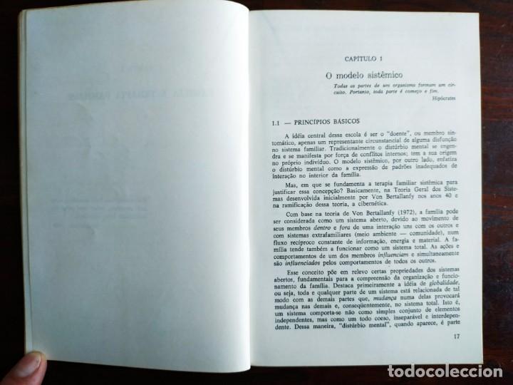 Libros: Libro Terapia Familiar e de casal. de Vera L. lamanno Calil. 1987 Terapias familiares y de pareja - Foto 6 - 199040188