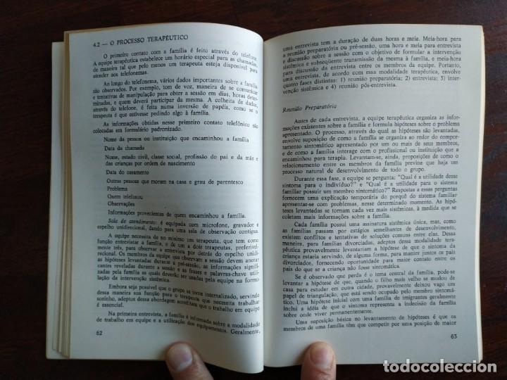 Libros: Libro Terapia Familiar e de casal. de Vera L. lamanno Calil. 1987 Terapias familiares y de pareja - Foto 9 - 199040188